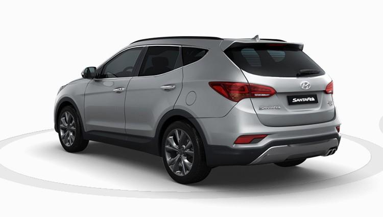 Vidro Vigia (traseiro) Hyundai Santa Fe 2013 Em Diante