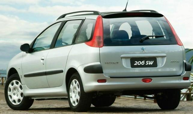 Vidro Vigia (traseiro) Peugeot 206 Sw