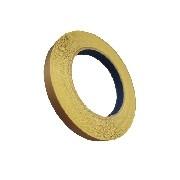 Fita Marrom Teflon com Adesivo 10 mm x 15 Metros
