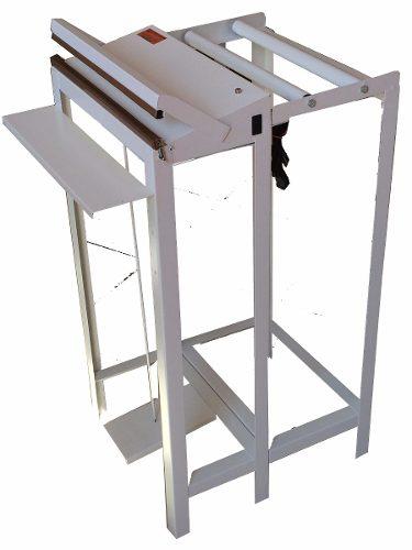Seladora Pedal 40 Cm Para Plástico Com Suporte Para Bobina