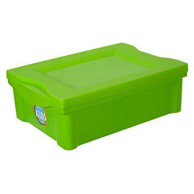 Caixa Organizadora Kids 13,5L - 42 x 30 x 14cm - Verde