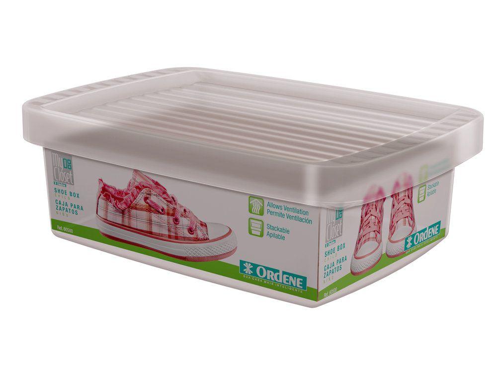 Caixa para Sapatos Infantil - Kit com 2 unidades