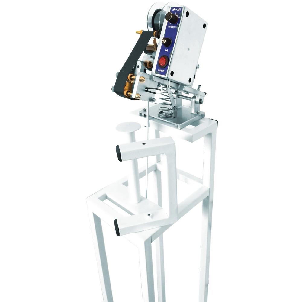 Datador Pedal para Potes Tampas e Rotulos 220 v