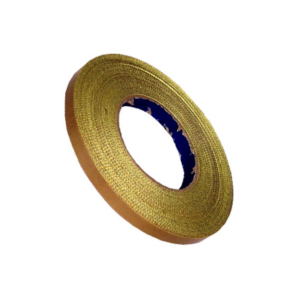 Fita Marrom Teflon P/ Seladoras Com Adesivo 10mm X 1metros