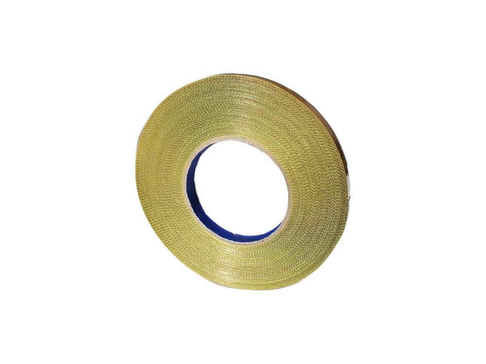 Fita Marrom Teflon P/ Seladoras Com Adesivo 12mm X 1 metro