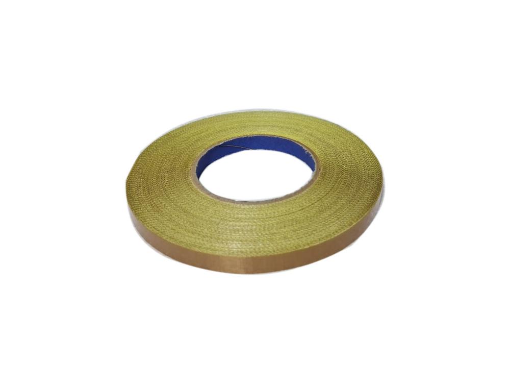 Fita Marrom Teflon P/ Seladoras Com Adesivo 13mm X 1metro