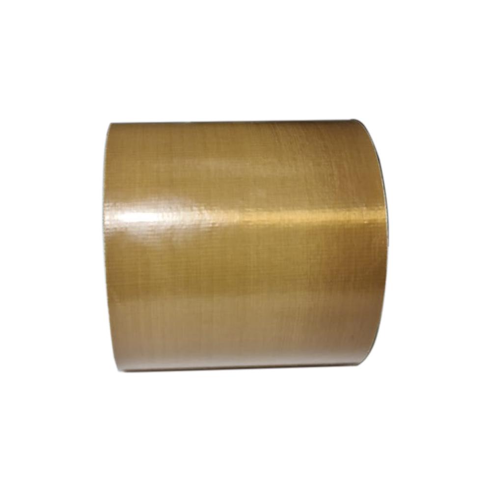 Fita Teflon P/ Seladoras Marrom Com Adesivo 150mm X 1metro
