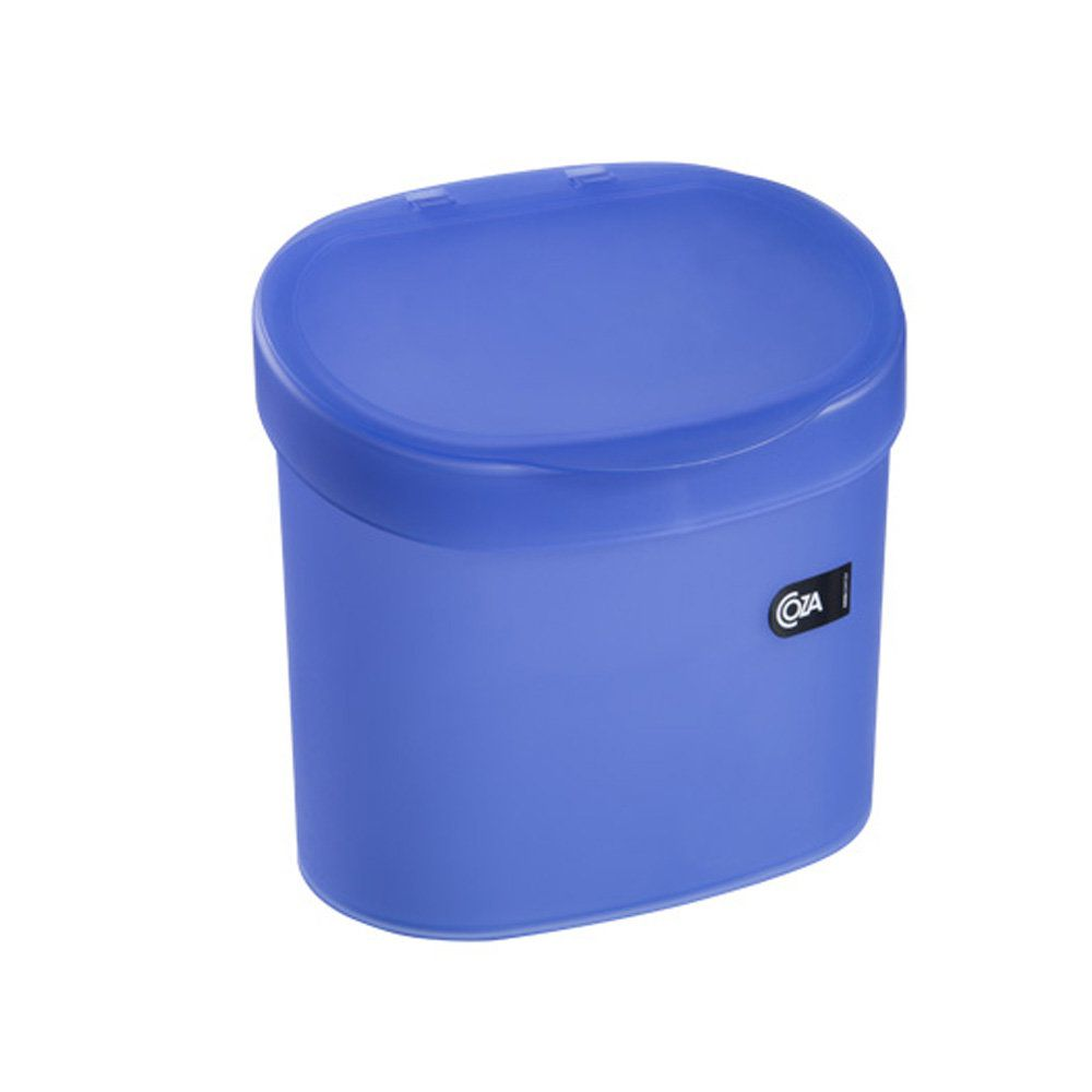 Lixeira De Pia 4 L Azul 16 X 22 X 23 Cm Coza
