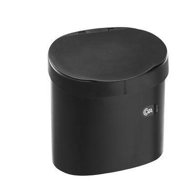 Lixeira De Pia 4 L Preta 26 X 26 X 20 Cm Coza