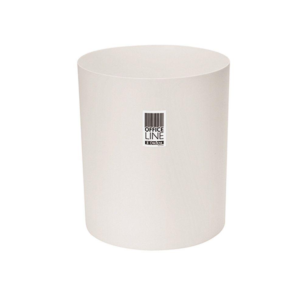 Lixeira para Papel Cilindrica 10L Branco