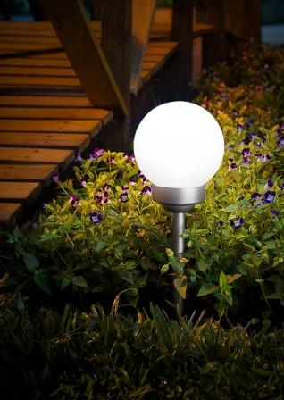 Luminaria Solar Globo