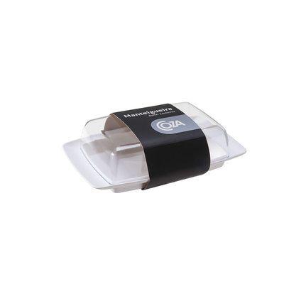 Manteigueira Cristal 18,4 X 11,5 X 5,2 Cm Coza