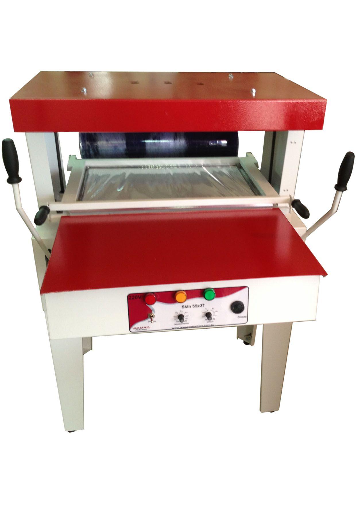Máquina Encarteladora Skin 55x37 Isamaq Seladora 220 v