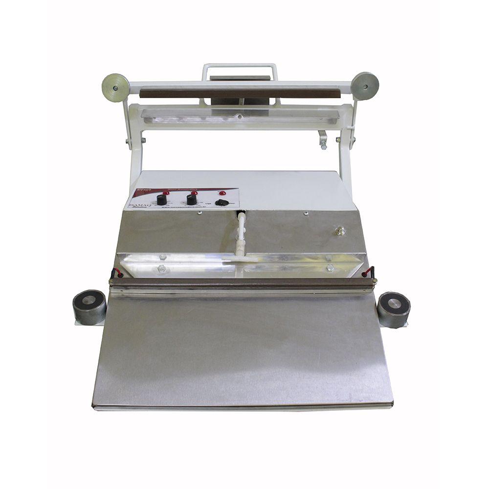 Máquina Seladora a Vácuo De Bico 40cm Semi-automatica Isamaq