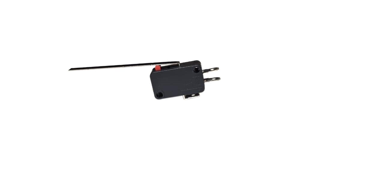 Micro Switch Chave Fim De Curso Alavanca Haste - Preto
