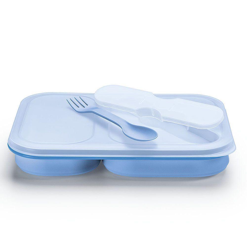 Pote Marmita Flexivel para Alimentos com 2 compartimentos Sanremo