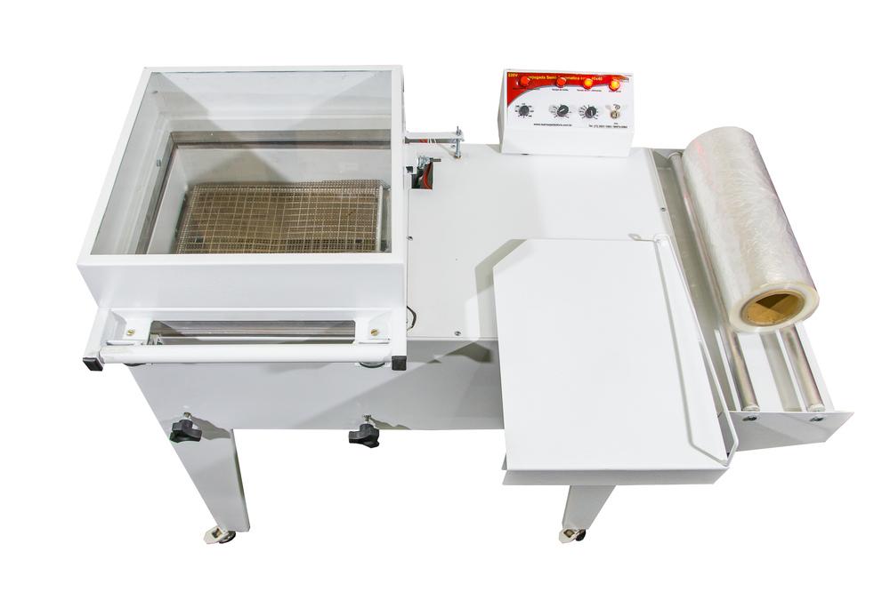 Seladora Conjugada em L Semi-Automatica Termoencolhivel 40x40 220v Isamaq