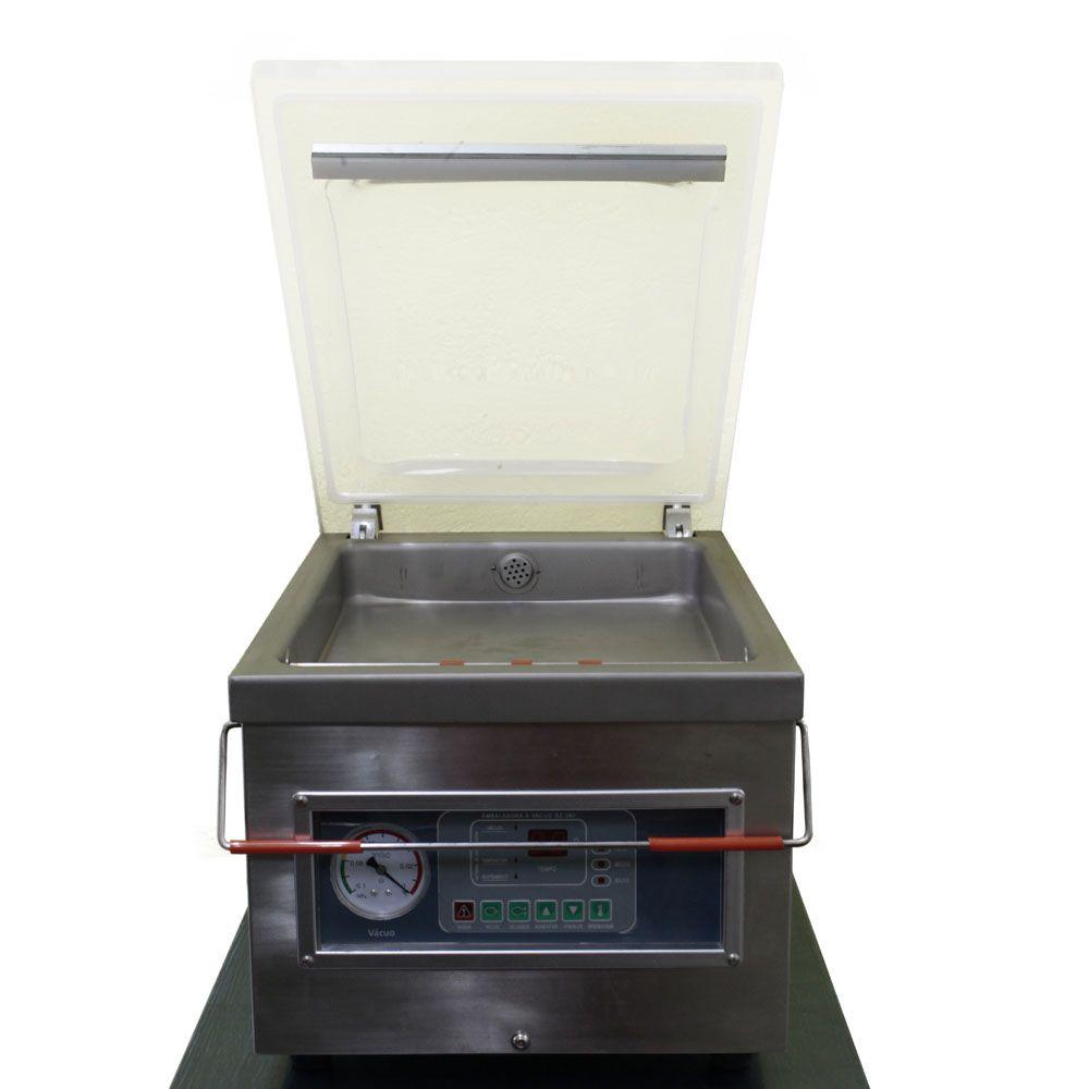 Seladora De Plástico à Vácuo Industrial De Câmara DZ260 220v