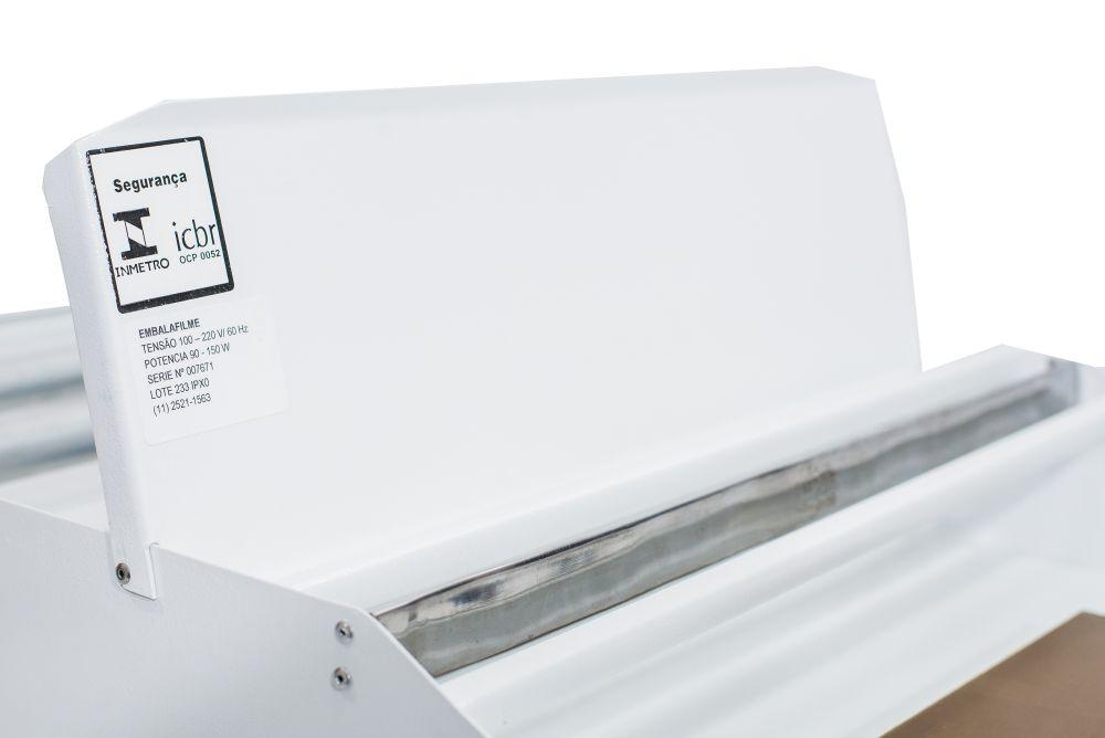 Seladora Embaladora para Bobinas em Película de PVC Manual 50cm Isamaq