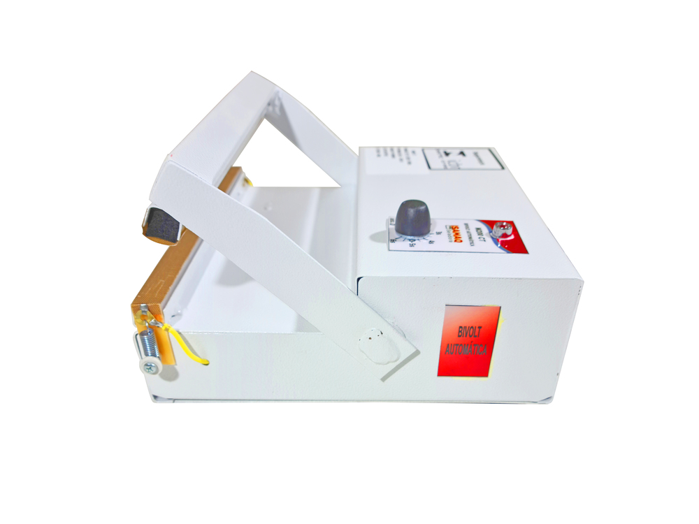 Seladora Manual de Embalagens Plasticas 20cm Bivolt C/ Temporizador Isamaq
