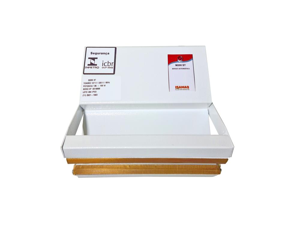Seladora Manual de Embalagens Plásticas 20cm Bivolt S/ Temporizador Isamaq