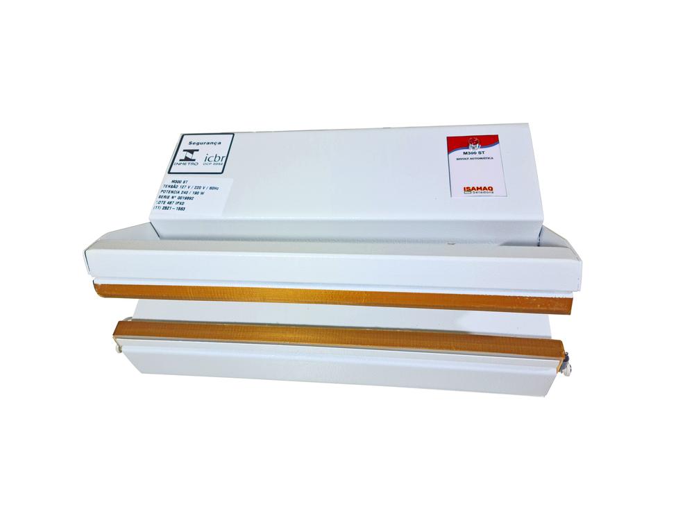 Seladora Manual de Embalagens Plásticas 30cm Bivolt S/ Temporizador Isamaq