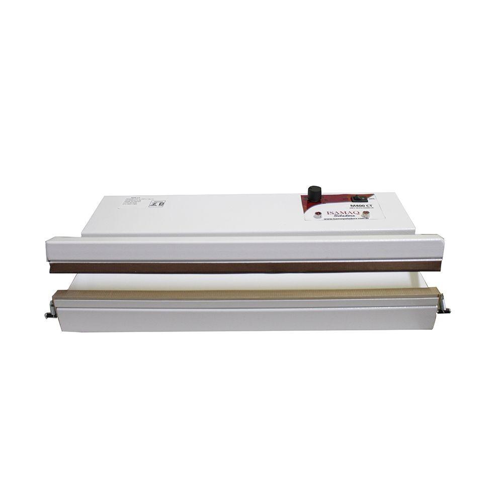 Seladora Manual de Embalagens Plasticas 40cm Bivolt C/ Temporizador Isamaq