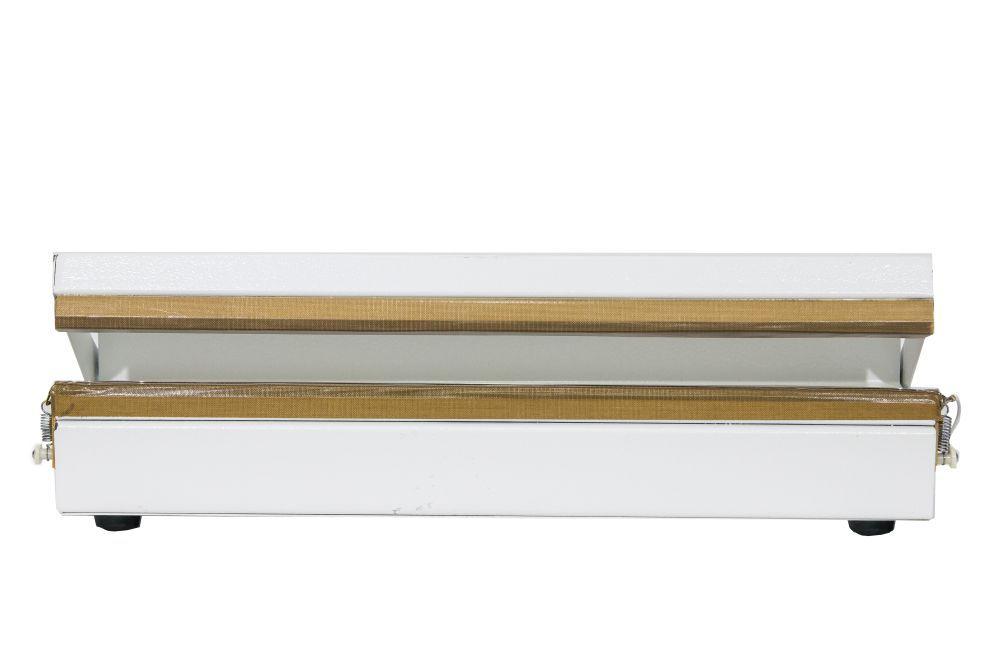 Seladora Para Sacos Plásticos Manual 40cm Sela e Corta