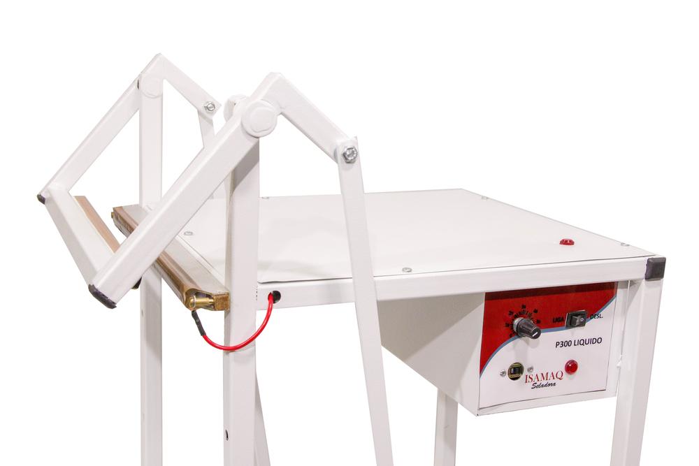 Seladora Pedal 30cm para Líquido Bivolt