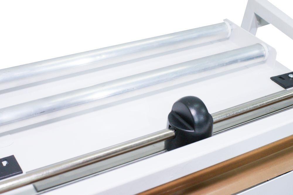 Seladora Pedal 35cm para Papel Grau Cirúrgico Barramento Quente 220 v (suporte + corte)