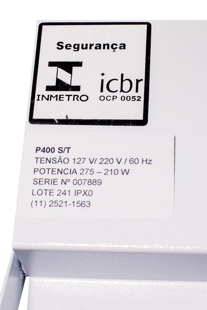 Seladora Pedal de Embalagens Plasticas 40cm Bivolt C/ Temporizador Isamaq