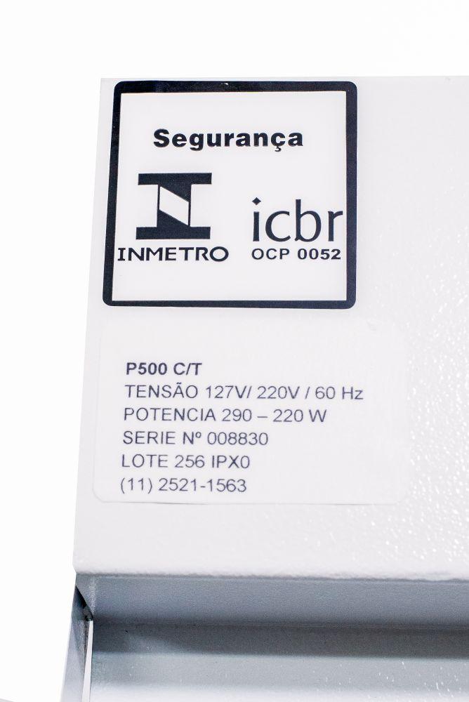Seladora Pedal de Embalagens Plasticas 50cm Bivolt C/ Temporizador Isamaq