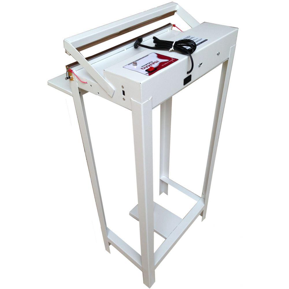 Seladora Pedal de Embalagens Plasticas 50cm Bivolt S/ Temporizador Isamaq