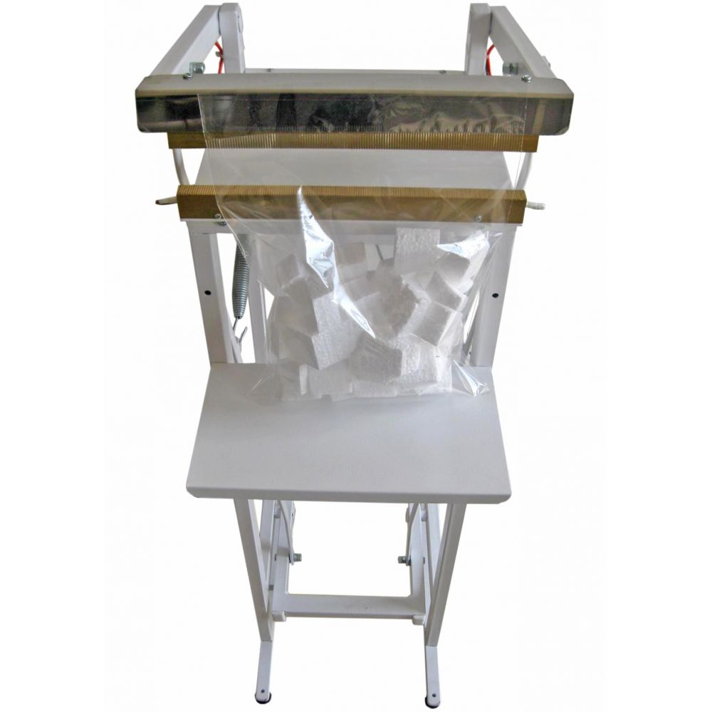 Seladora Pedal para Embalagem Aluminizada Salgadinho Picolé 25cm Recravada Isamaq
