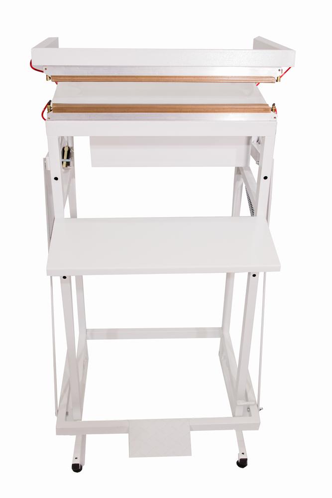Seladora Pedal para Embalagens Aluminizadas Displays Toldos 40cm Solda Dupla Isamaq