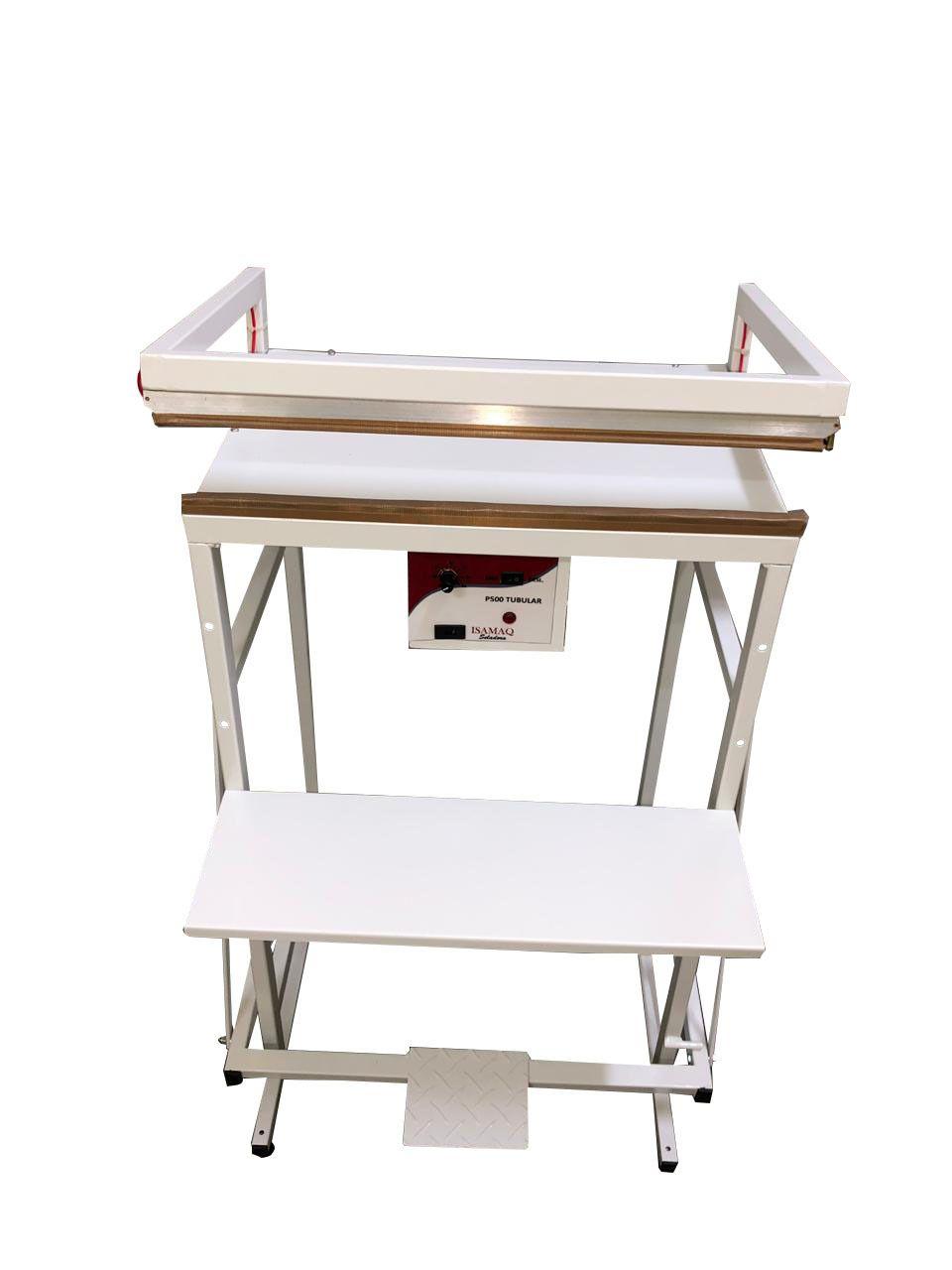 Seladora Pedal para Embalagens Aluminizadas Sacos de Areia Pedra 50 cm Isamaq