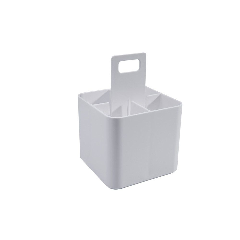 Suporte Multi Uso Pequeno Mod  Branco 16 X 9 X 6,8 Cm Coza