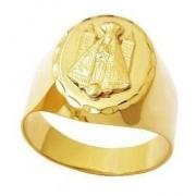 Anel Nossa Senhora Aparecida Ouro 18K - K650