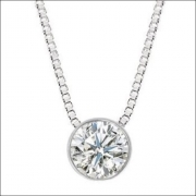 Colar Ponto De Luz Diamante Brilhante Extra 20 Pontos Ouro 18K K480