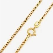 Corrente Veneziana Ouro 18K 0,6 Milimetros 45Cm K110 02241