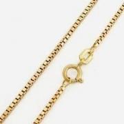 Corrente Veneziana Ouro 18K 60Cm K260 05766