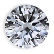 Diamante Brilhantes Redondos De 10 Pontos (0,10ct) Cada