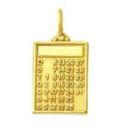 Pingente Calendario Ouro 18K K180