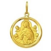 Pingente Nossa Senhora Da Conceição Ouro 18K Dmr 11V 600 Aro