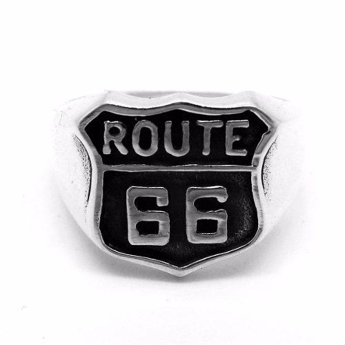 Anel Rota 66 Pura Prata De Lei Reforçado Garantia 20995