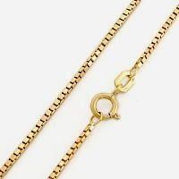 Corrente Veneziana Ouro 18K 40Cm K180 12483