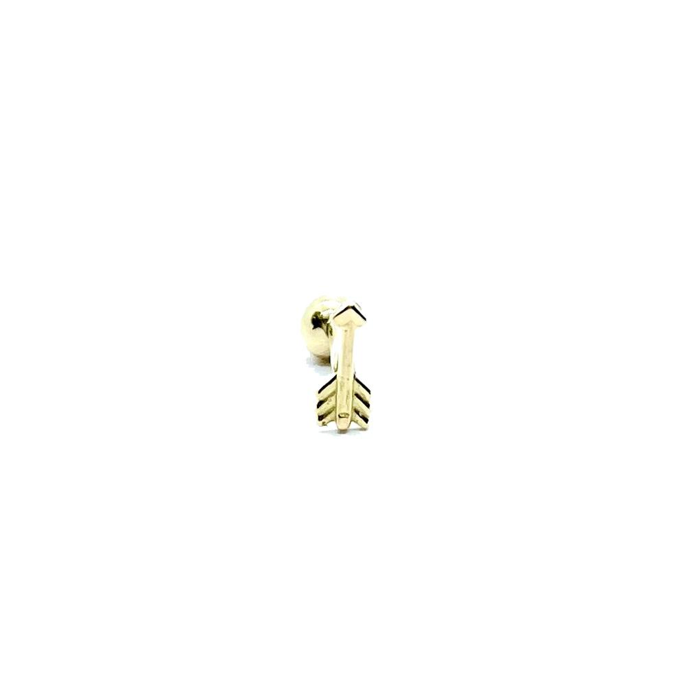 Piercing flecha Ponto Luz Cartilagem Trágus Orelha 25779 k035