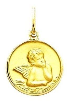 Pingente Anjo Da Guarda Ouro 18K 1,20Cm K110