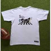 CAMISETA  FOOTBALL SOUL BEATLES