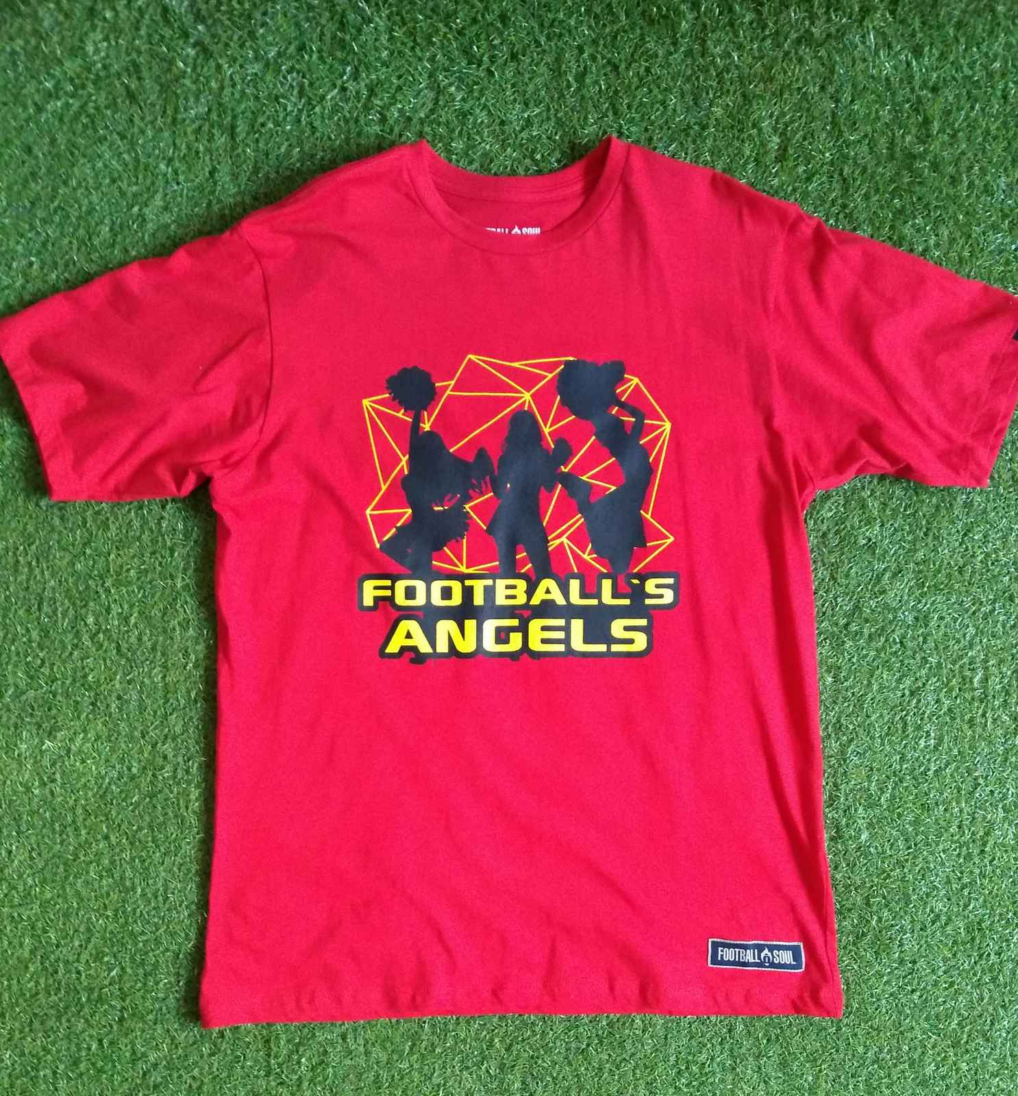 CAMISETA FOOTBALL ANGEL'S RED